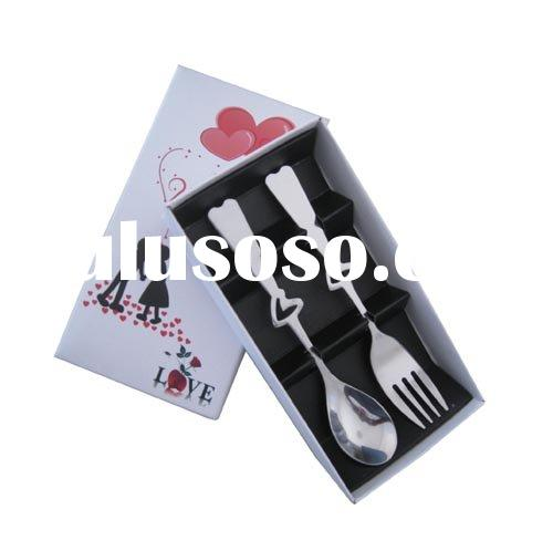 Wedding gifts& spoon and fork set & Chinese wedding gifts