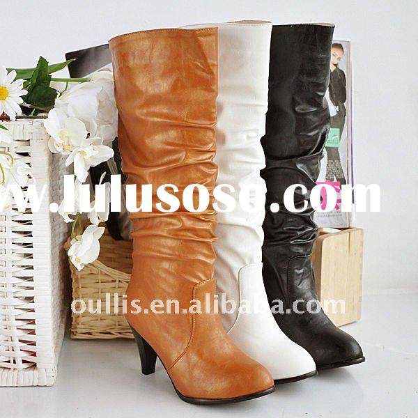 ladies leather dresses women office shoes china shoes boot ho101