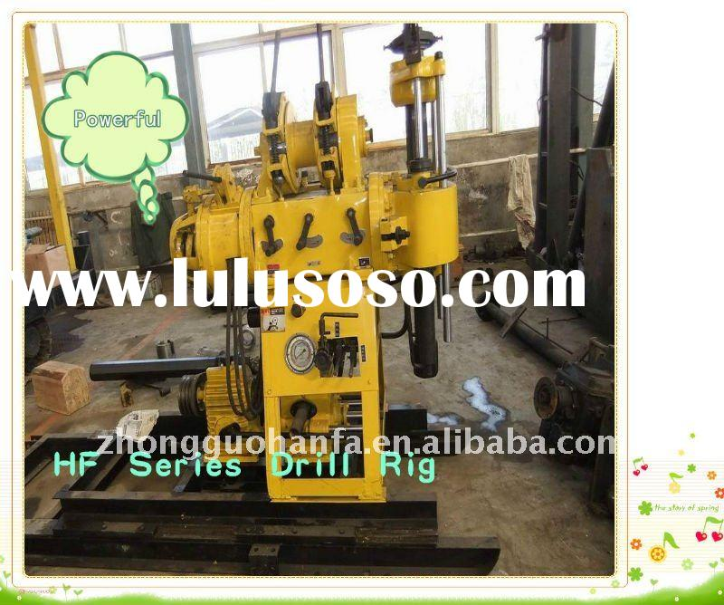 special recommended ,Best small trailer drill rig !!! HF150 hydraulic water borehole drilling machin