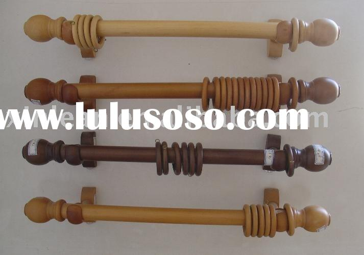 wooden curtain rod ( trail)