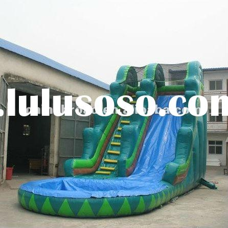 2012 top inflatable backyard mini water park for children or adults