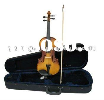 3/4 New Pro Violin With Case & Bow