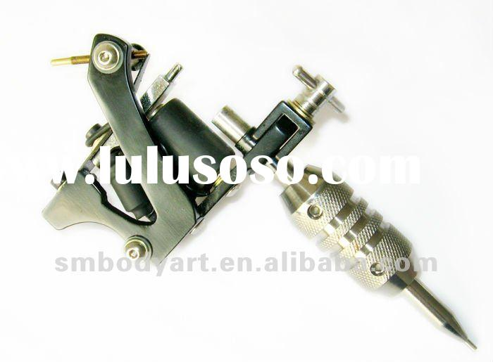 Gun shape professional carbon foundry steel spray tattoo machine