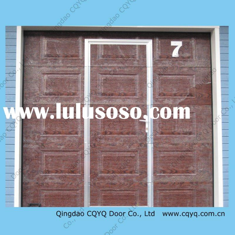 Wood Overlay Garage Doors For Sale Price China