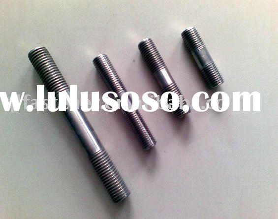 carbon steel stud bolt and nut zinc plated grade 4.8