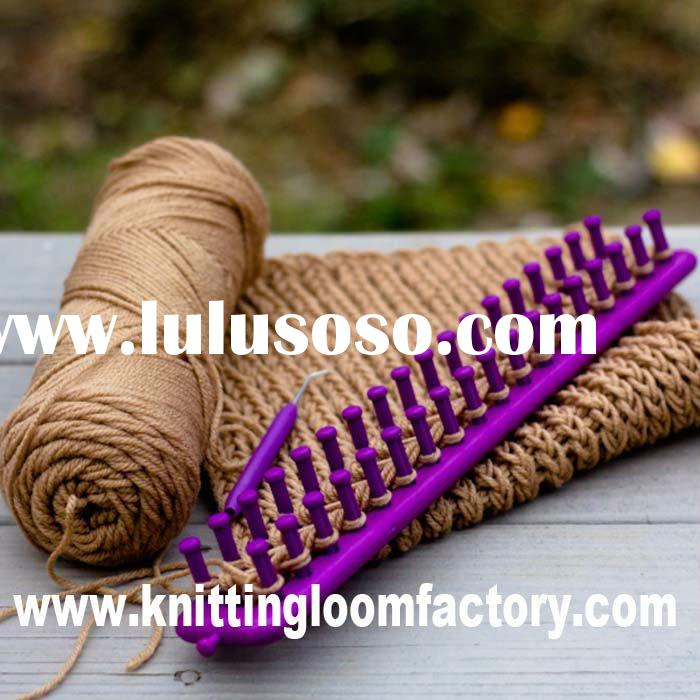 free knitting patterns hats long loom knitting