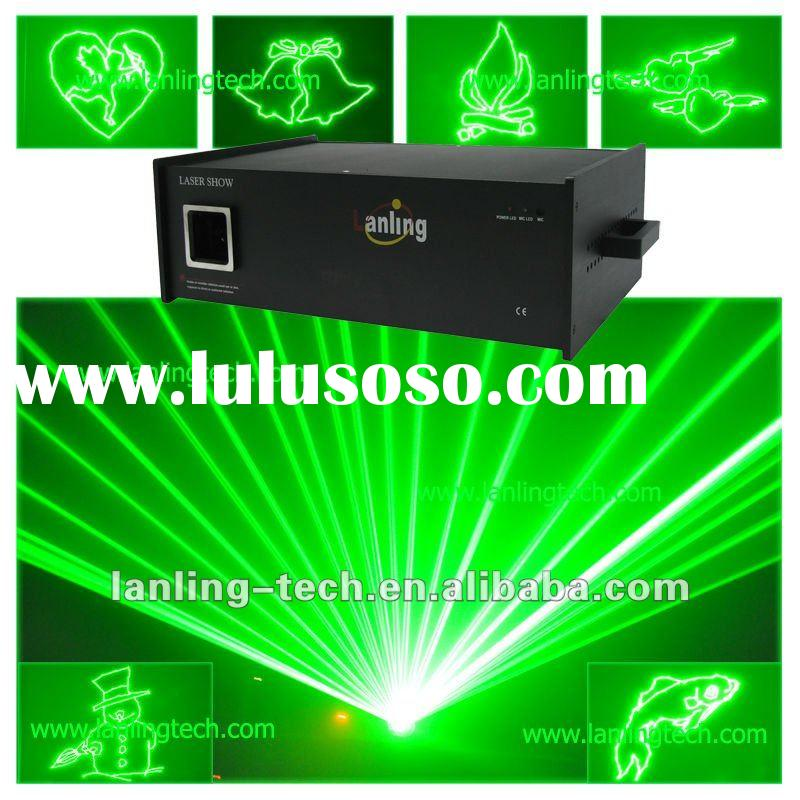 laser light outdoor 1W Green Animation Laser light projector dj disco club party light-L1000G