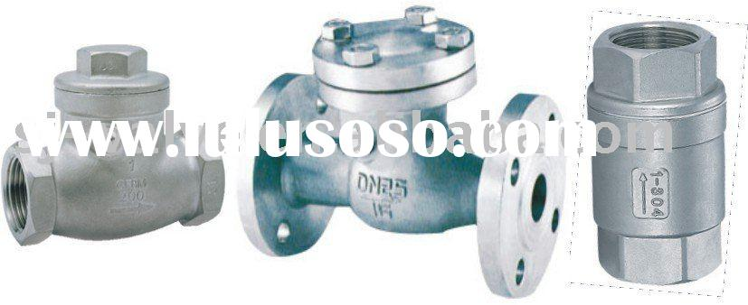 ss check valve(check valve manufacturers,flange check valve,swing check valve)