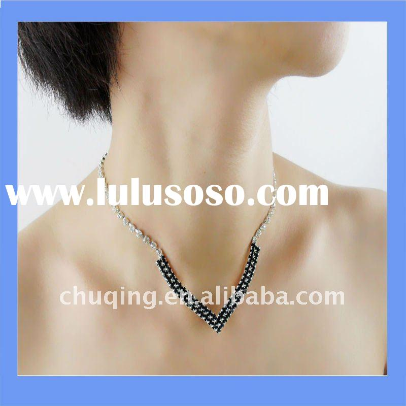 wholesale choker necklaces and vogue diamond necklace designs jewelry
