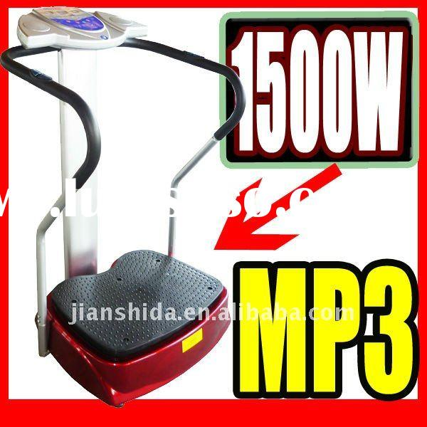 1500W Crazy Fitness Vibration Plate with MP3 (JSD-2001D)
