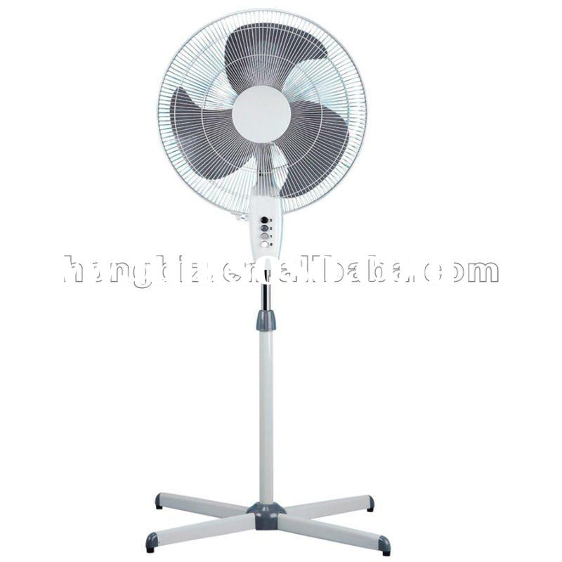 Electric Fan On A Stand : Parts electric stand fan with sprayed plastic base