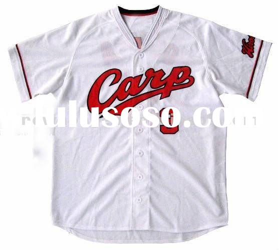 2012 Custom Plain Baseball Jersey for wholesale