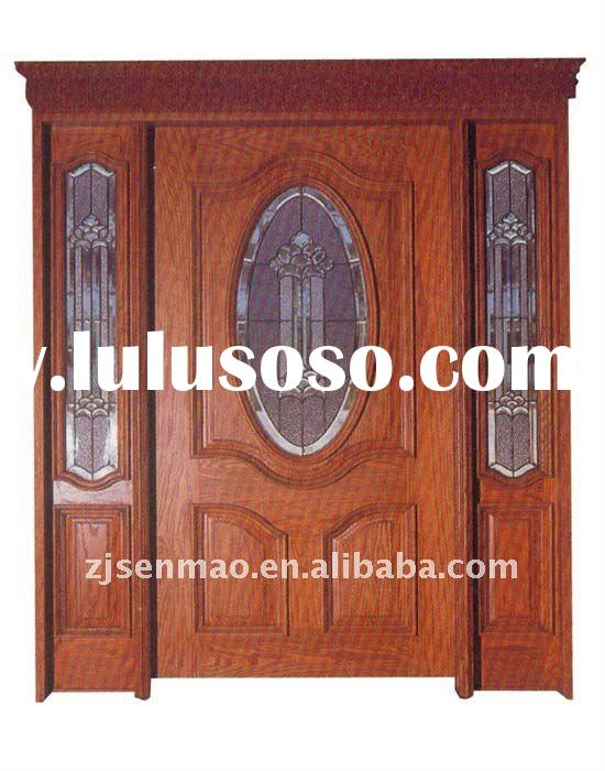 2012 hot sale solid wood door with CE by factory