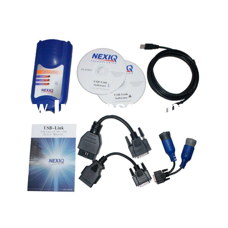 2012 newest price for NEXIQ 125032 USB Link + Software Diesel Truck Diagnostic tool