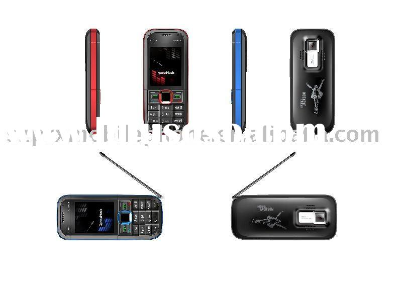 4 Band TV mobile phone 5130