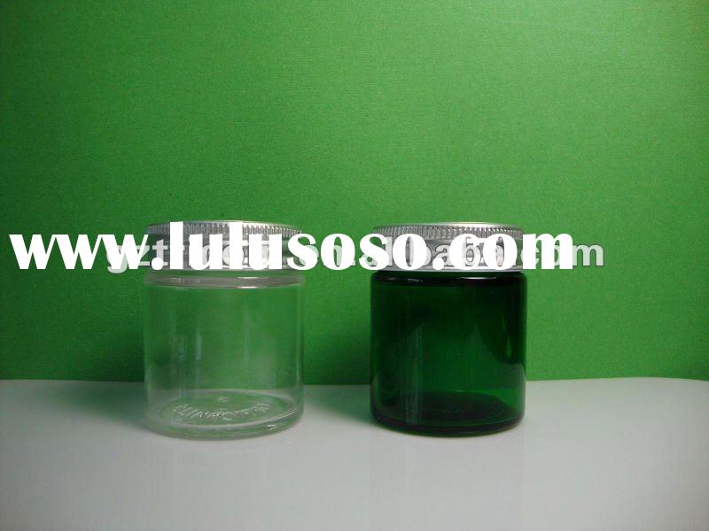 50g Cosmetic Glass Jar with aluminum lid