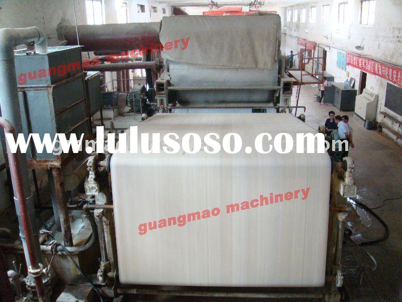 787mm small model toilet paper machine,tissue paper machine, waste paper recycling machine