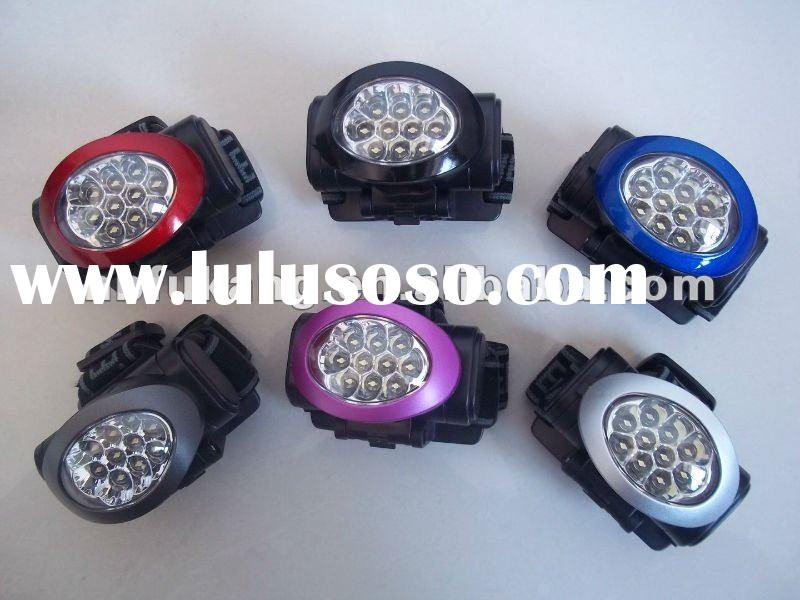 8 LED head lamp/Camping light /LED headlamps
