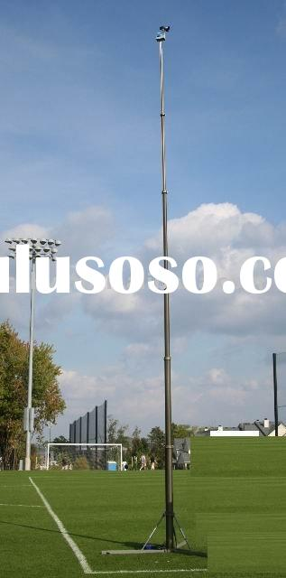 9m(30feet) Portable Pneumatic Telescopic Masts With Tripod And Antenna Telescopic Mast And Military