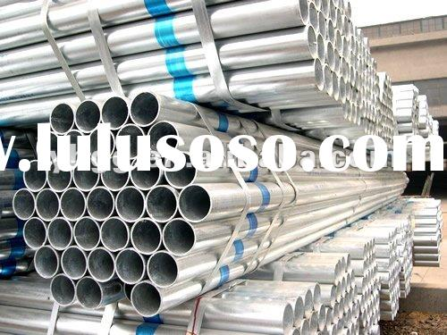 ASTM A106 Grade b Schedule 80 Hot dip Galvanized Seamless Fluid steel pipe