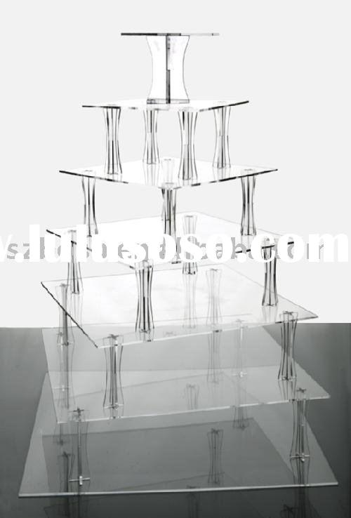 Acrylic Cupcake Stand,7 Tier Cupcake Holder,Acrylic Display Stand