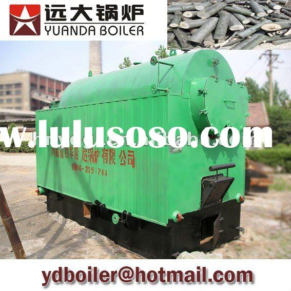 Best price manual type wood fired steam boiler
