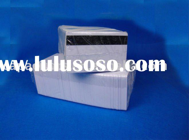 CSF Selling Inkjet Printable PVC card with hico magnetic stripe