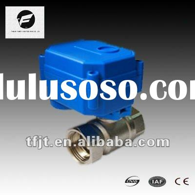 """CWX-15Q 1/2"""" SS Motorized/Electric Ball Valve for HVAC,Drinking Water"""
