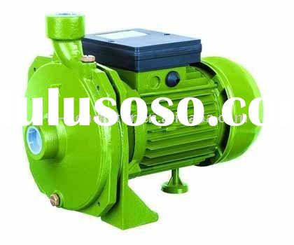 Centrifugal deep well pumps for water