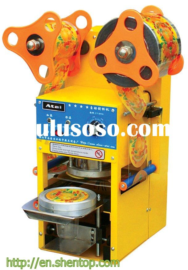 Commercial use Rotary series automatic slealer machine/ disposable plastic cups machine