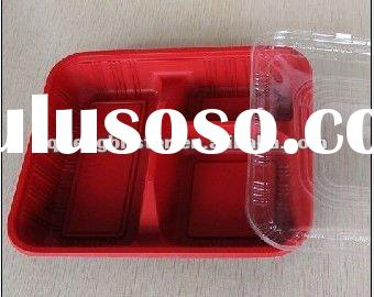 Disposable microwave plastic food tray ,lunch box ,plastic lunch box wholesale