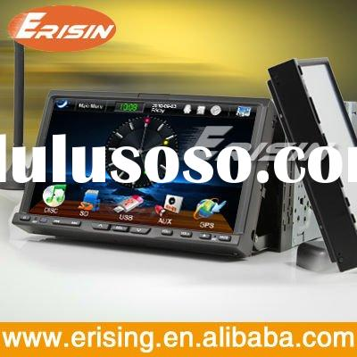 Erisin 7 inch 2 din TV iPod dvd car navigation and entertainment system