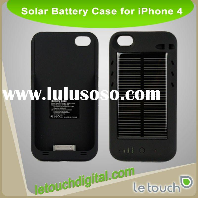 For iPhone 4 Solar Battery Case