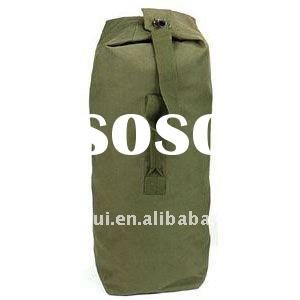 Hot sale military canvas duffle bag