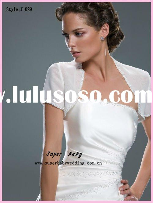 Fur white bridal fur jacket with long sleeves for sale for Short sale leads