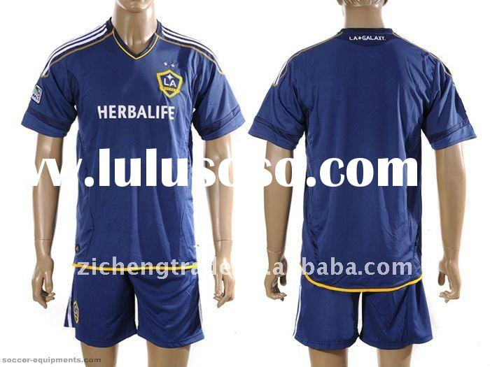 Los Angeles Galaxy Away 2011-2012 Club Soccer Jerseys For Wholesale
