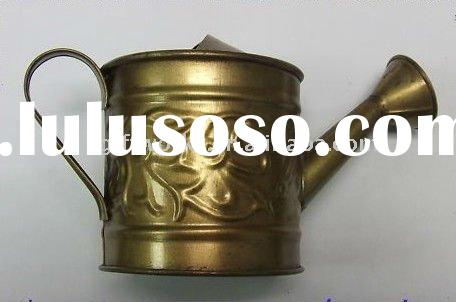 Miniature Rustic Galvanized Watering Can Paint