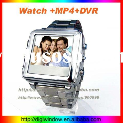 New Arrival Watch MP4 Player with Camera, Video, Alarm Clock Fuctions (DW-4-010)