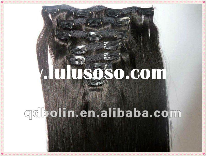 New Hot Sale one piece clip in hair extensions