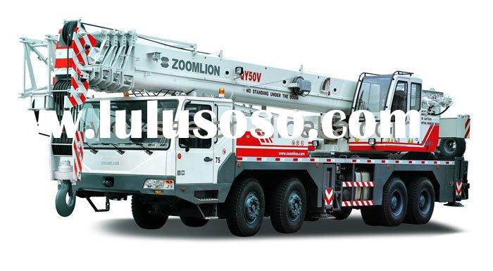 QY50V532 ZOOMLION Full Hydraulic Mobile Truck Crane / Construction Engineering Machinery / 50t 50 t