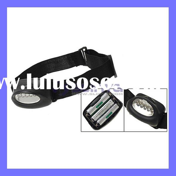 Rechargeable Battery AAA White LED Headlamp Headlight