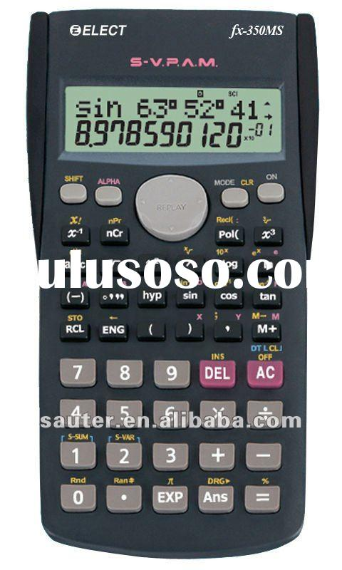 Scientific calculator fx-350ms