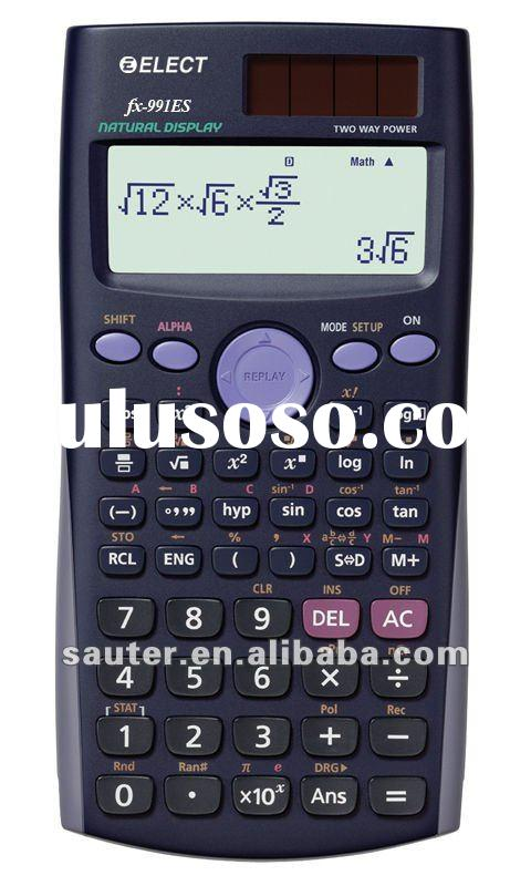 Scientific calculator fx-991es