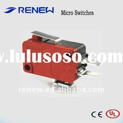 Short Hinge Lever Type Miniature Micro Switch For Sale