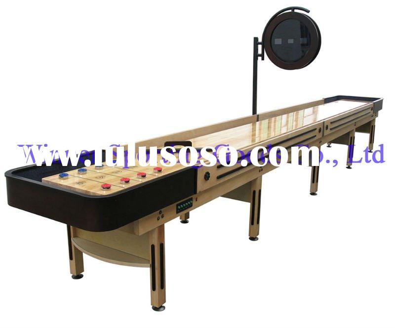 how to clean a shuffleboard