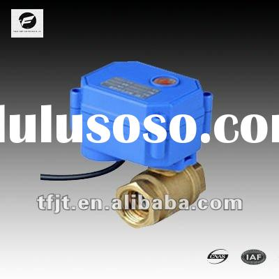 TF- 2 way3-6v,9-24v mini electric water valve CWX-15Q for water ,heating