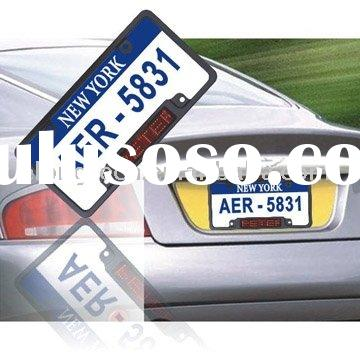 USA led license plate