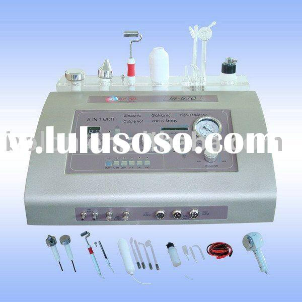 Vacuum&Spary, Ultrasonic, High Frequency, Galvanic and Hot&Cold Hammer Beauty Equipment BL-8