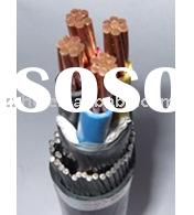 copper electrical wire xlpe Insulated with pvc jacket SWA steel wire armored Cable