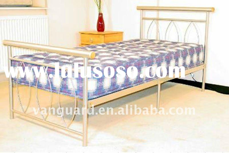 double metal iron bed